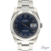 Rolex Datejust 36 Domed Oyster Blue
