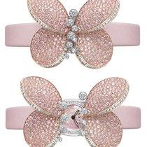 Graff Princess Butterfly White Gold & Pink Diamonds Ladies...