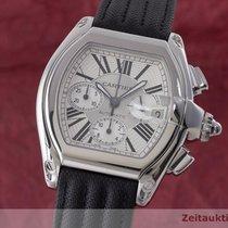 Cartier Roadster Chronograph Herrenuhr Automatik Edelstahl 2618