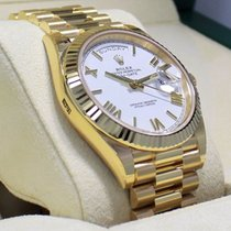 Rolex President Day-date 40mm 228238 18k Yellow Gold White...