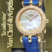 Van Cleef & Arpels Diamond MOP 18k Gold Ladies Watch...