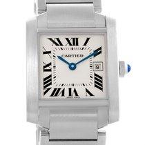 Cartier Tank Francaise Midsize Quartz Steel Womens Watch W51011q3