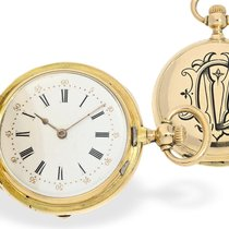 Pocket watch: very fine and very rare lady's watch with...