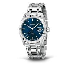 Eberhard & Co. Aquadate quadrante blu, cinturino in...