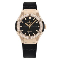 Hublot Classic Fusion King Gold Diamonds Automatic 33mm