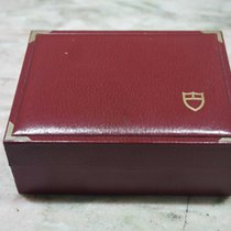 Tudor vintage watch box leather burgundy for 79170/79180/94300...