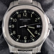 Patek Philippe S/Steel Sealed Black Dial Jumbo Aquanaut...