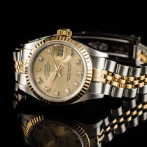 Rolex Datejust Steel/ 750gg Diamonds