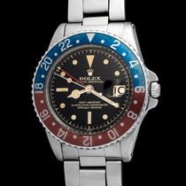 Rolex Gmt Master 1675 Gilt & Chapter Ring Mirror Dial