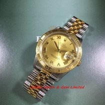 Rolex Datejust Turn-O-Graph Champagne Roman dial Watch only