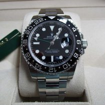 Rolex GMT-Master II Stainless Steel/Black Ceramic Bezel