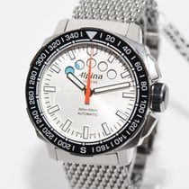 Alpina Adventure Extreme Sailing Chrono Stahl