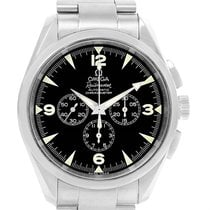 Omega Aqua Terra Railmaster Mens Chronograph Watch 2812.52.37