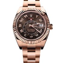 Rolex Sky Dweller Rose Gold Choco - 326935