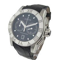 Corum 61320.012005 Romulus Chronograph in Steel - On Black...