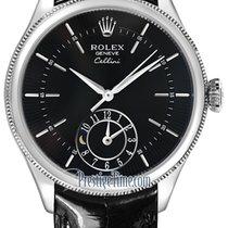 Rolex Cellini Dual Time 39mm 50529 Black