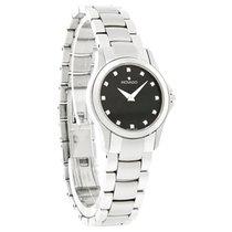 Movado Masino Series Diamond Ladies Black Dial Quartz Watch...
