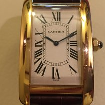 Cartier Tank Americaine Manual(9P) limited edit deployantes