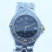 Ebel Sportwave Herren Uhr 37mm Stahl/gold Klassisch 3 6187631 ...