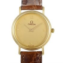 Certified Pre-Owned Omega Women's 18K Yellow Gold Quartz...