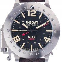 U-Boat Italo Fontana U-42 50 GMT Titan Automatik Chronograph...