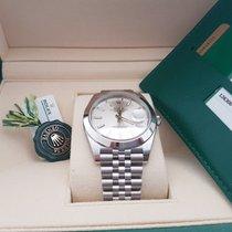 Rolex new Datejust 41mm silver dial Unworn 2017