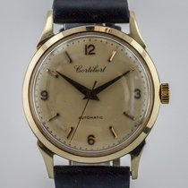 Cortébert , Vintage 8525, Mens, 14K Solid Gold, Cal 451,...