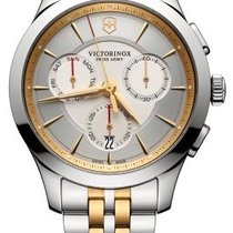 Victorinox Swiss Army ALLIANCE CHRONOGRAPH 44mm Dial Silver...
