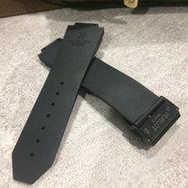 Rubber band & pvd black clasp for Hublot bigbang 44mm Fit...