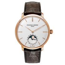 Frederique Constant Men's Slimline Moonphase Watch