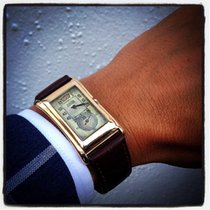 Rolex Prince Gold Brancard Jump Hour