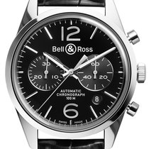 伯莱士 (Bell & Ross) BR 126 Vintage BRV 126 Officer Black