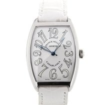 Franck Muller Casablanca White Dial Blue Steel Hands Automatic