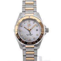 TAG Heuer Aquaracer Lady Quartz 27 Yellow Gold Plated Details...