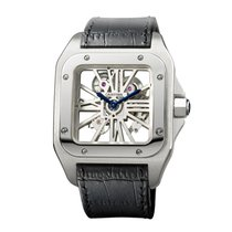 Cartier Santos Dumont Manual Mens Watch Ref W2020018