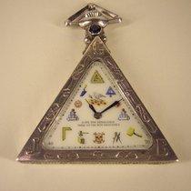 Tempor Watch Schöne Freimaurer (Masonic) Uhr in Silber