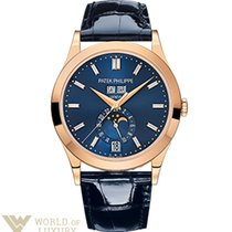 Patek Philippe Complications 38,5mm Rose Gold Blue Dial...