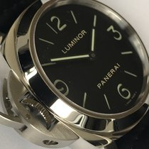 Panerai PAM 219 Luminor Base Left-Handed Acciaio - 44MM