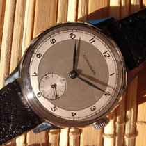 Longines two-tone dial vintage gents watch - cal. 12.68Z