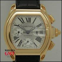 Cartier Roadster XL Chrono Gold