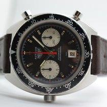 Heuer Autavia 1163 MH Ridged Dial Markers MKII Vintage...
