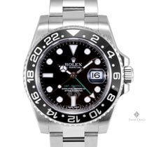 Rolex GMT-Master II Stainless Steel Black Dial Ceramic Black...