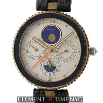 Gérald Genta Gefica Moonphase Day-Date Alarm 36mm