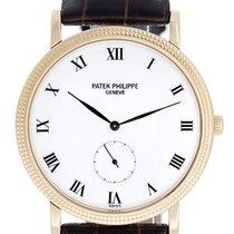 Patek Philippe Calatrava Men's 18k Yellow Gold Watch 3919R...