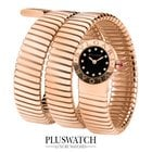 Bulgari WATCH 18k  pink gold case 19mm 102150 NEW