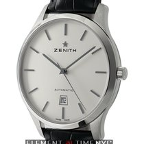 Zenith Captain Central Second Stainless Steel 40mm Silver Dial