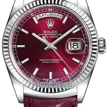 Ρολεξ (Rolex) Day-Date 36mm White Gold Fluted Bezel 118139...