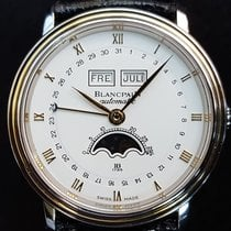 Blancpain Villeret Moon-Phase Calendar 18K Yellow Gold/Stainle...