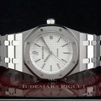 "Οντμάρ Πιγκέ (Audemars Piguet) Royal Oak ""WHITE DIAL"" ..."