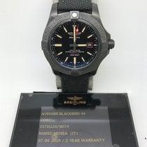 百年灵  (Breitling) Breitling Avenger Blackbird Titanium FULLSET...